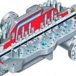 DMX ISO 13709:API 610 (BB3) Between Bearings, Single Case, Axially Split, Multistage Pump