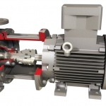 Durco Mark 3 ISO Close Coupled, Overhung, Chemical Process Pump