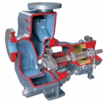 Durco Mark 3 ISO Self Priming, Overhung, Chemical Process Pump