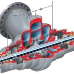 EG Nuclear Radially Split, Double Suction Pump