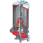HWMA ISO 13709:API 610 (OH3) Vertical In-line, Low-Flow, High-Head Overhung API Process Pump