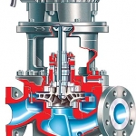 PVML ISO 13709:API 610 (OH5) Vertical In-Line Overhung API Process Pump